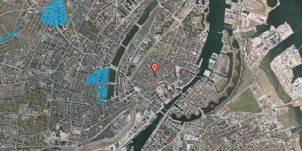 Oversvømmelsesrisiko fra vandløb på Klosterstræde 23A, kl. , 1157 København K