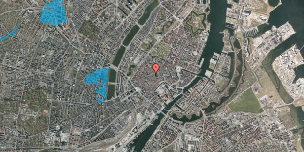 Oversvømmelsesrisiko fra vandløb på Klosterstræde 23B, 1. , 1157 København K