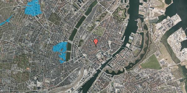 Oversvømmelsesrisiko fra vandløb på Klosterstræde 23, 3. tv, 1157 København K