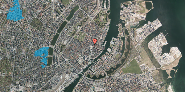 Oversvømmelsesrisiko fra vandløb på Kongens Nytorv 4, 1. , 1050 København K