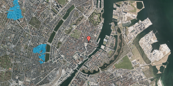 Oversvømmelsesrisiko fra vandløb på Kongens Nytorv 6, 2. , 1050 København K