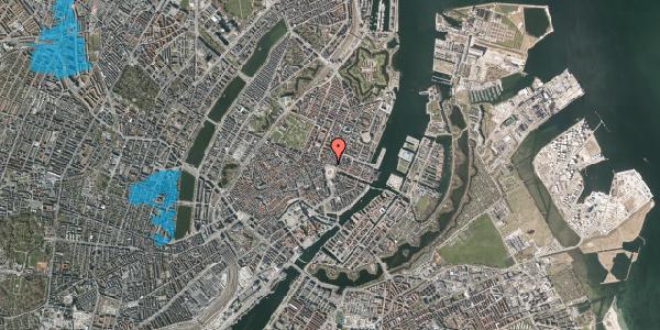 Oversvømmelsesrisiko fra vandløb på Kongens Nytorv 16, st. , 1050 København K