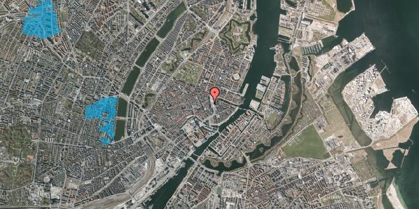 Oversvømmelsesrisiko fra vandløb på Kongens Nytorv 17, st. , 1050 København K