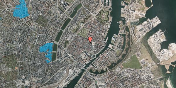 Oversvømmelsesrisiko fra vandløb på Kristen Bernikows Gade 4, st. th, 1105 København K