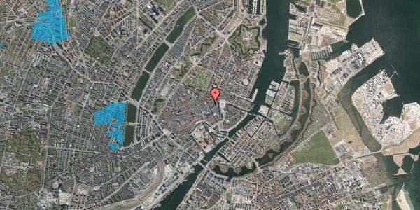 Oversvømmelsesrisiko fra vandløb på Kristen Bernikows Gade 4, st. tv, 1105 København K