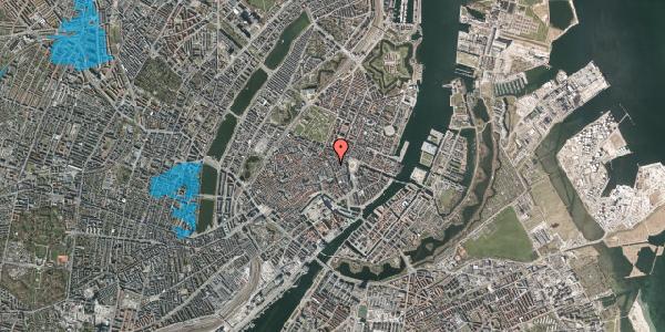 Oversvømmelsesrisiko fra vandløb på Kristen Bernikows Gade 6, 3. , 1105 København K