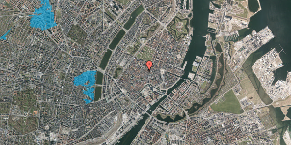 Oversvømmelsesrisiko fra vandløb på Kronprinsensgade 1, kl. , 1114 København K