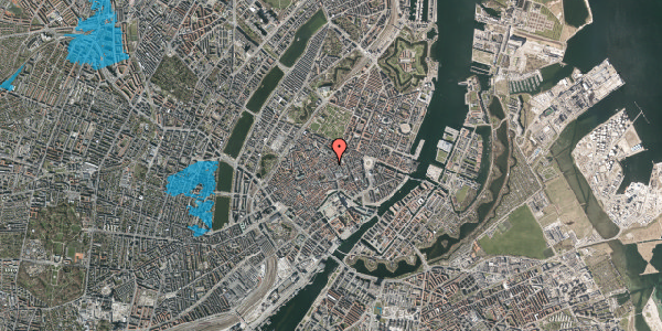 Oversvømmelsesrisiko fra vandløb på Kronprinsensgade 2, 4. , 1114 København K