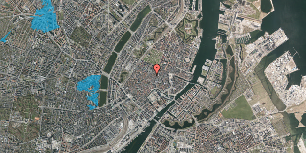 Oversvømmelsesrisiko fra vandløb på Kronprinsensgade 3, st. , 1114 København K