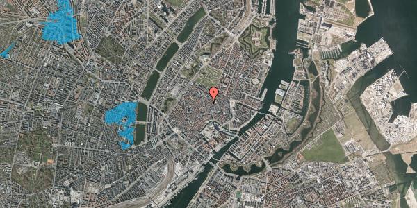 Oversvømmelsesrisiko fra vandløb på Kronprinsensgade 3, 1. , 1114 København K