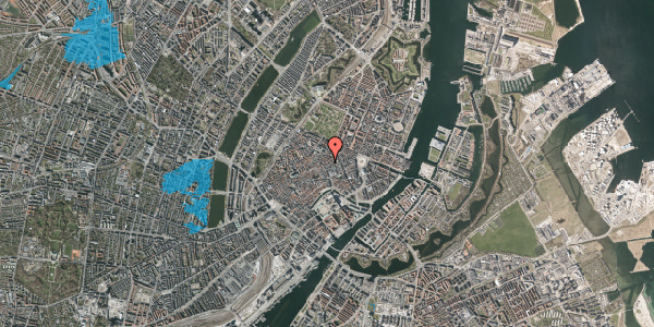 Oversvømmelsesrisiko fra vandløb på Kronprinsensgade 6A, 3. , 1114 København K