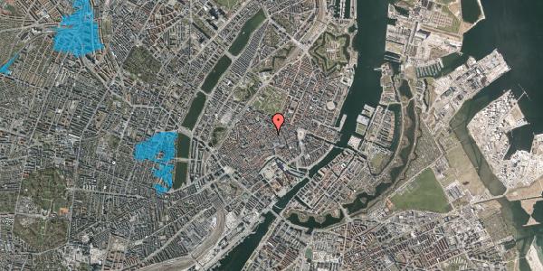 Oversvømmelsesrisiko fra vandløb på Kronprinsensgade 6, st. , 1114 København K