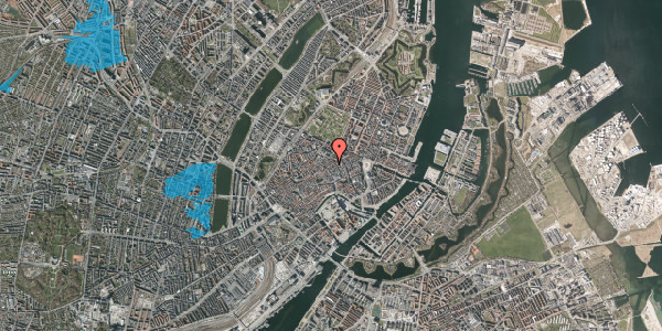 Oversvømmelsesrisiko fra vandløb på Kronprinsensgade 7, 1. , 1114 København K