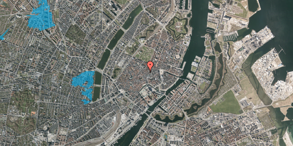 Oversvømmelsesrisiko fra vandløb på Kronprinsensgade 8A, 4. , 1114 København K
