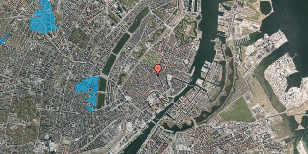 Oversvømmelsesrisiko fra vandløb på Kronprinsensgade 13, 2. tv, 1114 København K