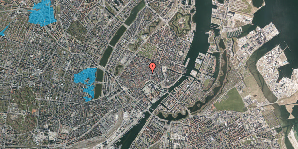 Oversvømmelsesrisiko fra vandløb på Købmagergade 5, kl. th, 1150 København K