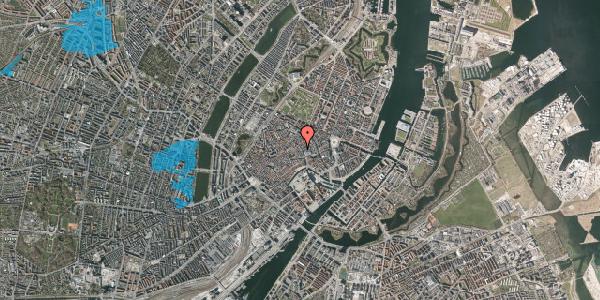 Oversvømmelsesrisiko fra vandløb på Købmagergade 13C, st. , 1150 København K