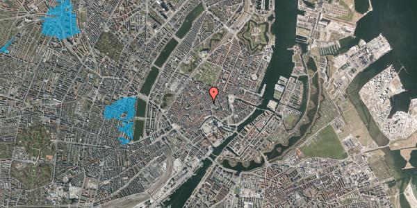 Oversvømmelsesrisiko fra vandløb på Købmagergade 13, 3. , 1150 København K