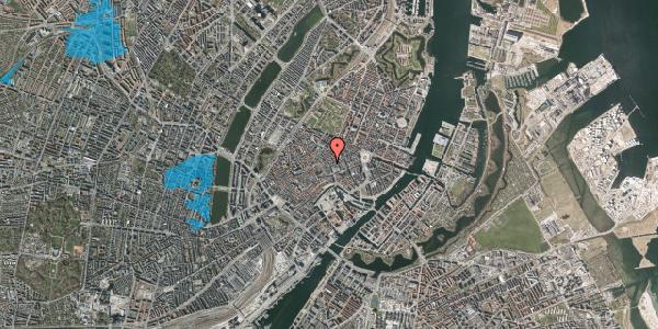 Oversvømmelsesrisiko fra vandløb på Købmagergade 15, 2. , 1150 København K