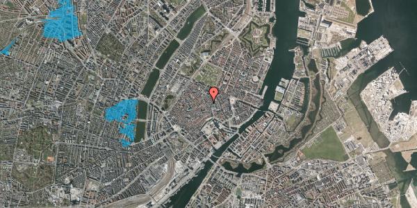 Oversvømmelsesrisiko fra vandløb på Købmagergade 25, 2. th, 1150 København K