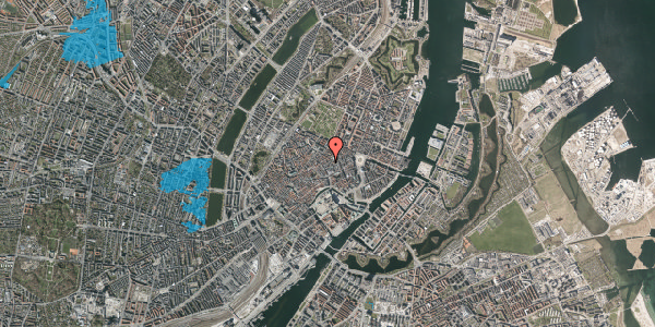 Oversvømmelsesrisiko fra vandløb på Købmagergade 26B, 1. , 1150 København K