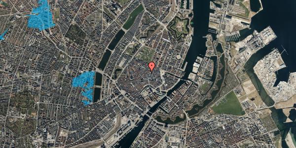 Oversvømmelsesrisiko fra vandløb på Købmagergade 26C, 1. , 1150 København K
