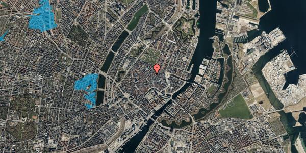 Oversvømmelsesrisiko fra vandløb på Købmagergade 26E, 3. , 1150 København K