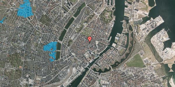 Oversvømmelsesrisiko fra vandløb på Købmagergade 28B, kl. , 1150 København K