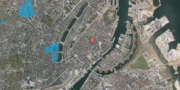 Oversvømmelsesrisiko fra vandløb på Købmagergade 28, st. , 1150 København K