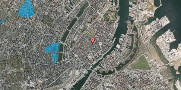 Oversvømmelsesrisiko fra vandløb på Købmagergade 28, 4. , 1150 København K