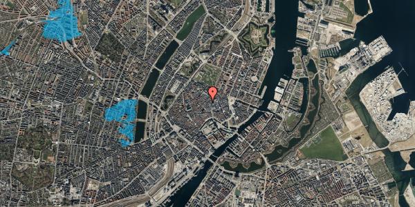 Oversvømmelsesrisiko fra vandløb på Købmagergade 29, 2. 2, 1150 København K