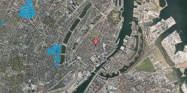 Oversvømmelsesrisiko fra vandløb på Købmagergade 32, 4. , 1150 København K