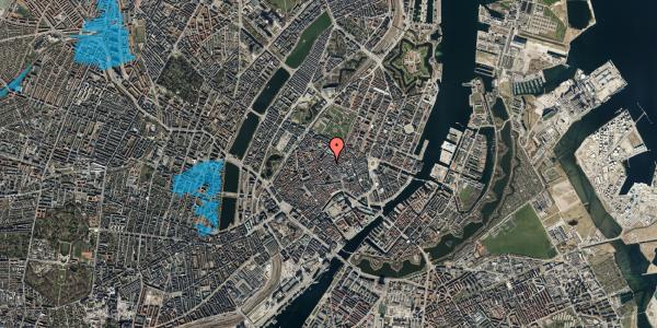 Oversvømmelsesrisiko fra vandløb på Købmagergade 39, 1. , 1150 København K