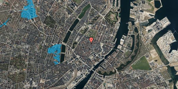 Oversvømmelsesrisiko fra vandløb på Købmagergade 45, kl. tv, 1150 København K
