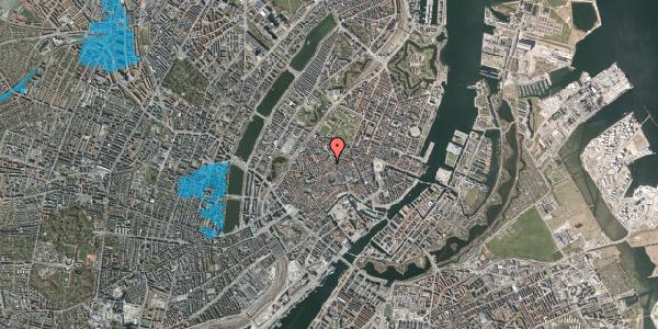 Oversvømmelsesrisiko fra vandløb på Købmagergade 47, st. 1, 1150 København K