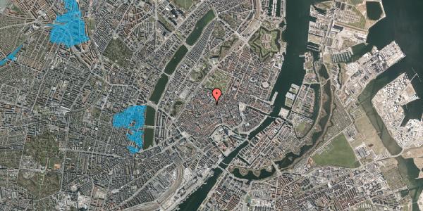 Oversvømmelsesrisiko fra vandløb på Købmagergade 48, 1150 København K