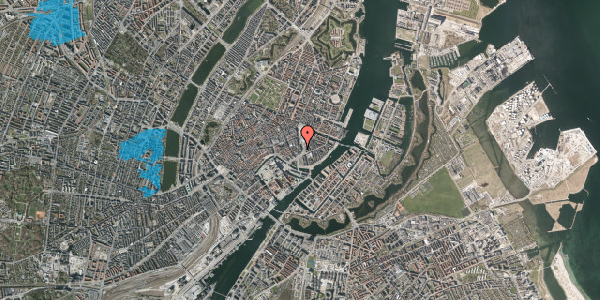 Oversvømmelsesrisiko fra vandløb på Laksegade 5, 3. tv, 1063 København K