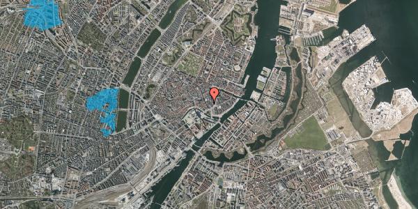 Oversvømmelsesrisiko fra vandløb på Laksegade 12, 3. tv, 1063 København K