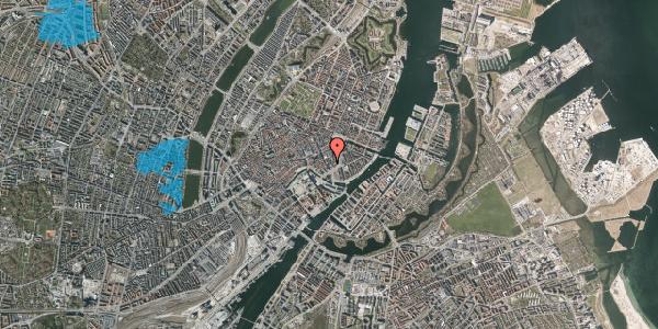 Oversvømmelsesrisiko fra vandløb på Laksegade 14, 3. tv, 1063 København K
