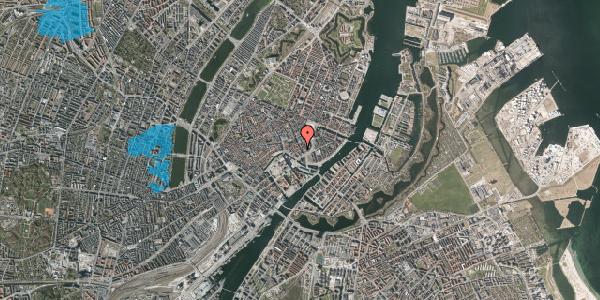 Oversvømmelsesrisiko fra vandløb på Laksegade 20A, 1. mf, 1063 København K