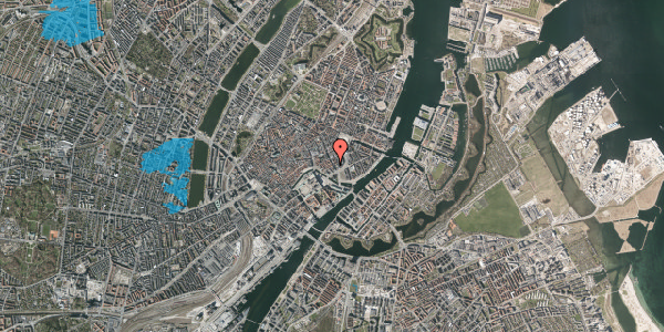 Oversvømmelsesrisiko fra vandløb på Laksegade 20A, 2. tv, 1063 København K