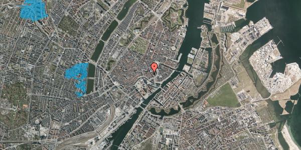 Oversvømmelsesrisiko fra vandløb på Laksegade 20C, 1. th, 1063 København K