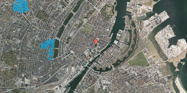 Oversvømmelsesrisiko fra vandløb på Laksegade 20C, 2. th, 1063 København K