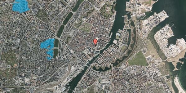 Oversvømmelsesrisiko fra vandløb på Laksegade 20E, 2. , 1063 København K