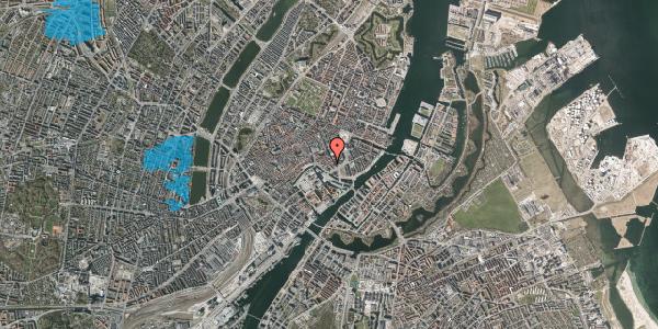 Oversvømmelsesrisiko fra vandløb på Laksegade 26, 1. tv, 1063 København K