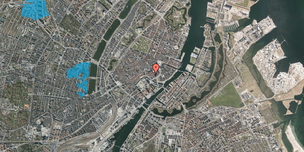 Oversvømmelsesrisiko fra vandløb på Laksegade 28, 2. , 1063 København K