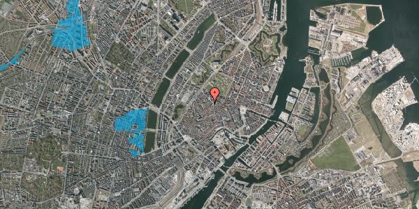 Oversvømmelsesrisiko fra vandløb på Landemærket 9, kl. 4, 1119 København K