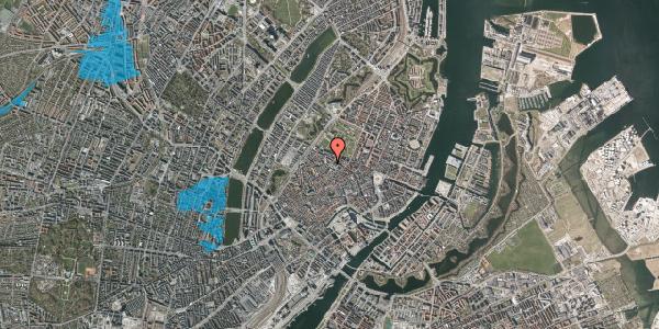 Oversvømmelsesrisiko fra vandløb på Landemærket 21, st. , 1119 København K