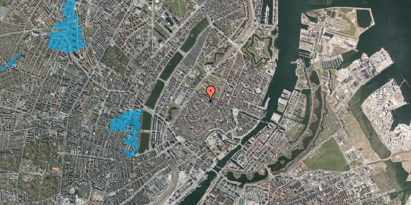 Oversvømmelsesrisiko fra vandløb på Landemærket 27, 1. tv, 1119 København K
