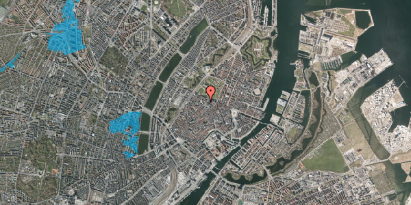 Oversvømmelsesrisiko fra vandløb på Landemærket 29, st. th, 1119 København K